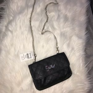 Crossbody bag with included wallet